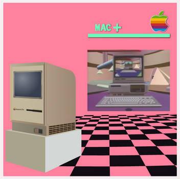 Macintosh Plus cover parody/crossover by WindyThePlaneh
