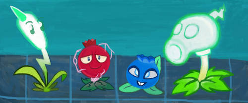The Electric (Plants) Squad by WindyThePlaneh