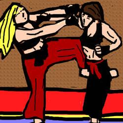 Jeannie Karate Kid2 by ccrgameman