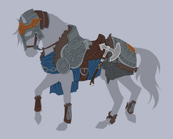 TACK AUCTION 4  Closed || Ulfric Stormcloak Armor by cyprussian