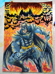 Bats on Fire by benbal