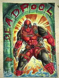 Deadpool by benbal