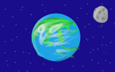 A flag for our planet by GumballWaterson1990