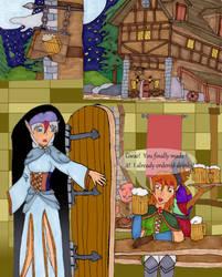 Moonlit Tavern 1 by Kathalia