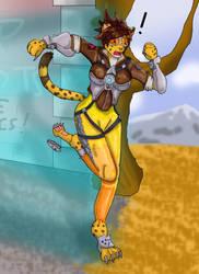 Chronal Malfunction: Tracer Cheetah TF by Kathalia