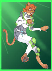 The Green Lion(ess) by Kathalia