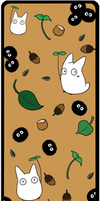 Totoro Bookmark by keicea