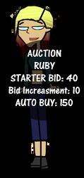 [SOLD TO KADEN] Ruby OC Auction by GrumpyTyler