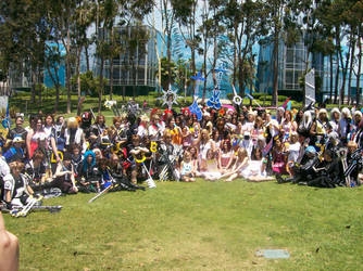 Kingdom Hearts Gathering by RoxyRoo