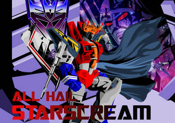 ALL HAIL STARSCREAM by reeves83
