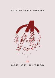 Avengers: Age of Ultron Minimalist Poster by lewisdowsett