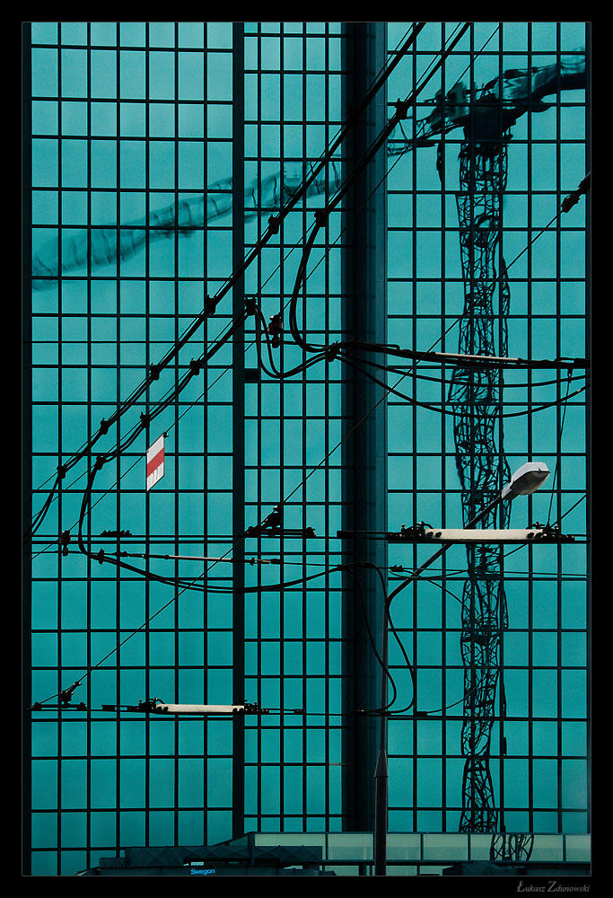reflected crane 02 by Lukasszz81
