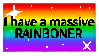 RAINBONER stamp by 1tsM4gic