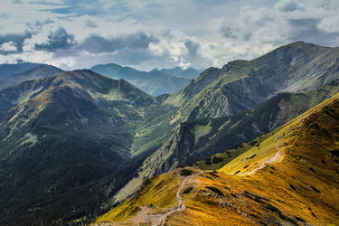 mountain Tatry_4 by papagall