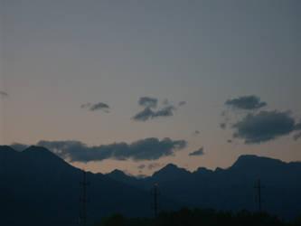 Italian Mountains Night III by lostsoul9