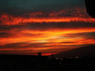 Italian Skies of Fire by lostsoul9