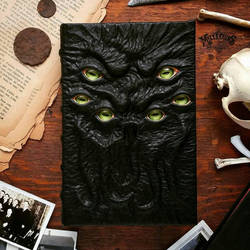 Cthulhu's Necronomicon - six eyes edition by MilleCuirs