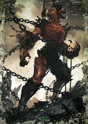 Hexxen 1733 RPG - Chain Demon by Kamyu