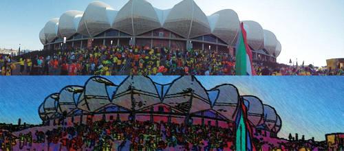 Nelson Mandela Bay Stadium by olrangelo