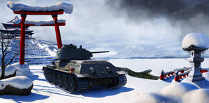 T-34, matte by wertinscaja