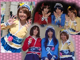 Yukata Maid by cherryteagirl