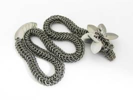 Dragon Slave Bracelet by BorealisMetalWorks