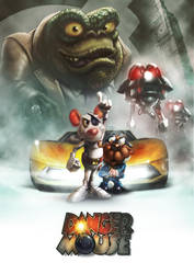 Danger Mouse Movie Poster by DazTibbles