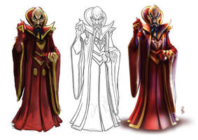 Ming The Merciless Working by DazTibbles