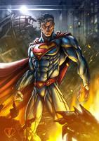 The Man of Steel by DazTibbles