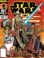 Star Wars Vintage TFA Comic Cover Issue1 by DazTibbles