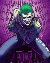 StraightJaket Joker by DazTibbles