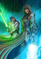 The Last Jedi by DazTibbles