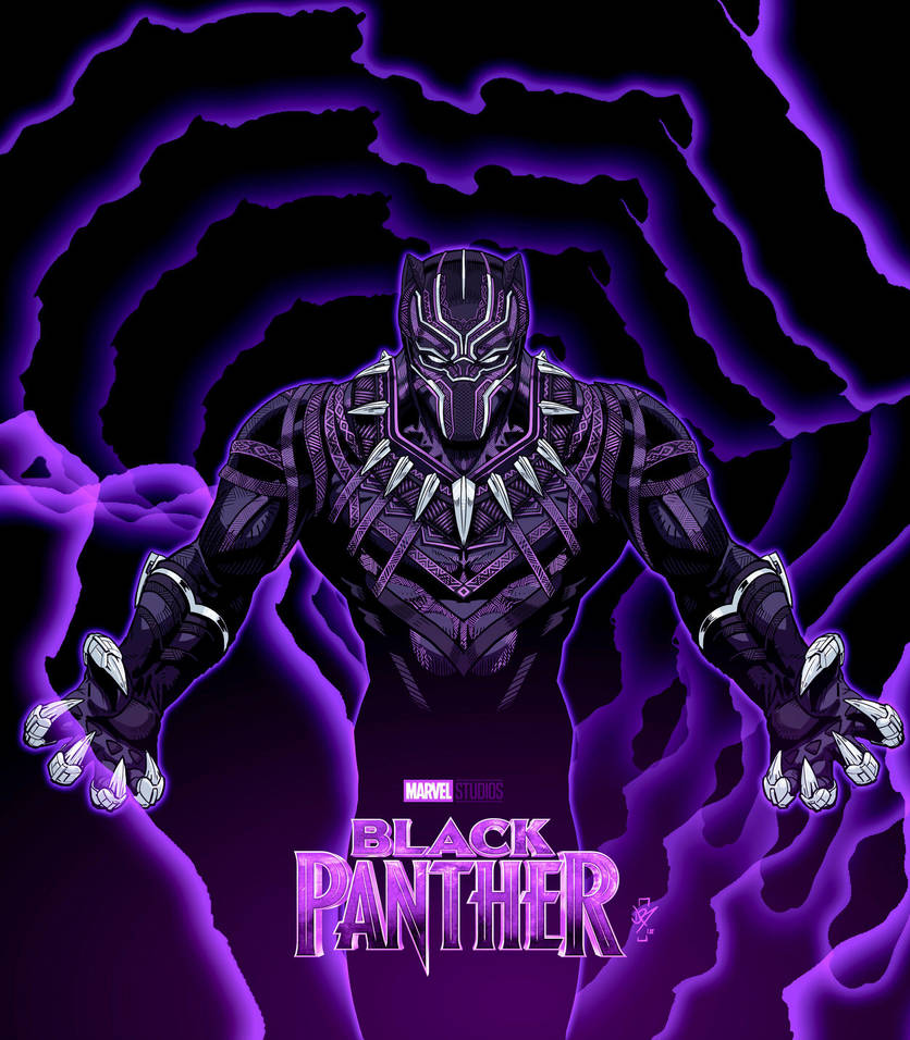 BlackPanther  by DazTibbles