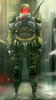 Soldier rank 2 by nachoyague