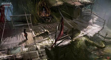 Assassin's Creed 3 : Liberation Tree Platform by nachoyague