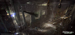 Splinter Cell: Blacklist Concept Art by nachoyague