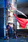Lightning Cosplay - Saber's Edge by cyberlight