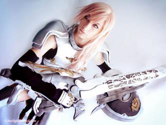 Lightning Cosplay - Etro's champion knight by cyberlight