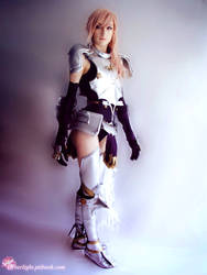 Lightning Cosplay - The Goddess by cyberlight
