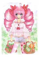 Strawberry Redraw Challenge by YamPuff