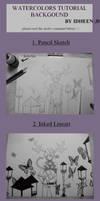 Tutorial: watercolors BG by idheen