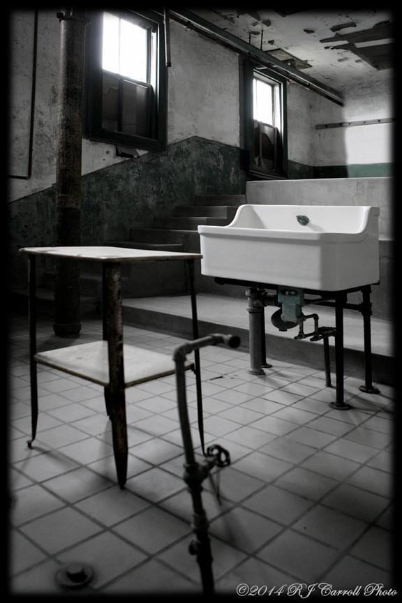 Ellis Island Hospital IV by rjcarroll