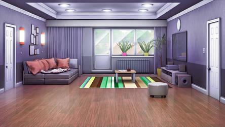 Living Room by anirhapsodist