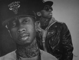 Tyga by FromPencil2Paper