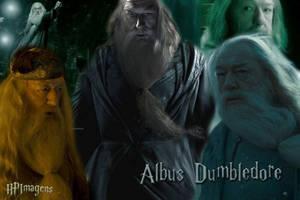 HBP Wallpaper Albus Dumbledore by jmpotter