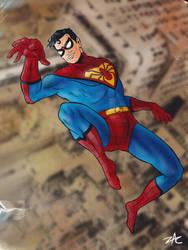 Silver Age Spider-Boy By Zclark by lurch-jr