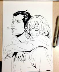 Noragami Kofuku and Daokikoku by NausicaaGhibli
