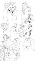 BULLY sketchdump by theSSjulia