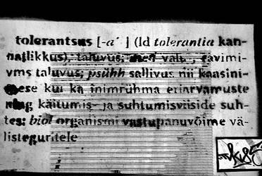 TOLERANTSUS by meriliisS