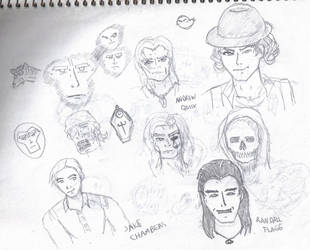 My version of Dark Tower Chars by coapaking